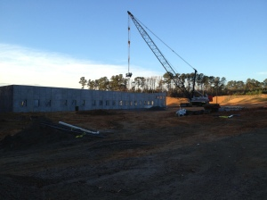 The external walls are up!